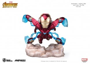 Avengers Infinity War Mini Egg Attack Figure Iron Man MK 50 9 cm