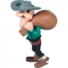 Lucky Luke figurka William Dalton Postal Bag 7 cm