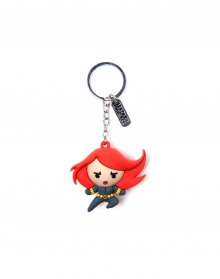 Marvel 3D Rubber Keychain Black Widow Character 7 cm