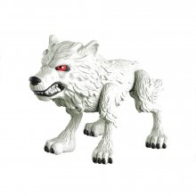 Game of Thrones Action Vinylová Figurka Ghost (Wolf) GITD 8 cm