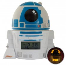 Star Wars BulbBotz Budík with Light R2-D2 14 cm