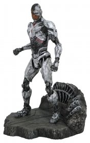 Justice League Movie DC Gallery PVC Socha Cyborg 23 cm
