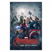 Plakát Avengers Age of Ultron One Sheet 61 x 91 cm