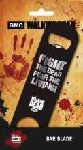 Walking Dead Bar Blade / otvírák na lahve Fear the Living 12 cm