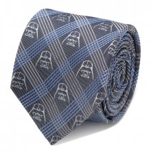 Star Wars Tie Darth Vader Chequered Blue