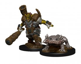WizKids Wardlings Miniatures Mud Orc & Mud Puppy Case (6)