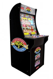 Arcade1Up Mini Cabinet Arcade Game Street Fighter II Champion Ed