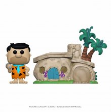 The Flintstones POP! Town Vinylová Figurka Flintstone's Home 9 c