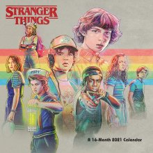 Stranger Things Calendar 2021 *English Version*