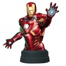 Marvel Comics Deluxe sběratelská busta Iron Man Mark VII 16 cm