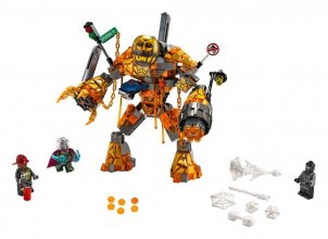 LEGO® Marvel Super Heroes™ - Molten Man Battle