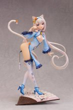 Nekopara PVC Socha 1/6 Vanilla Chinese Dress edition illustrati