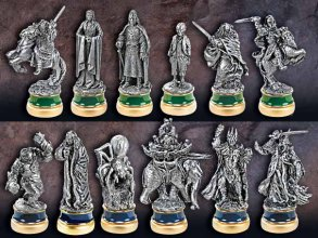 Lord of the Rings Chess Pieces The Return of the King Character