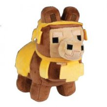 Minecraft Happy Explorer Plyšák Baby Llama Brown 16 cm