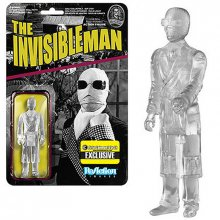 Universal Monsters ReAction figurka The Invisible Man Clear Ver.