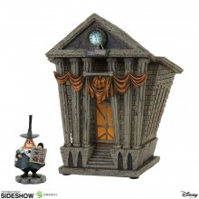 Nightmare Before Christmas Socha Halloween Town City Hall 22 cm