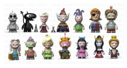 Disenchantment Vinyl Figures 8 cm Display (24)