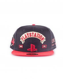 Sony PlayStation Biker Snap Back kšiltovka Logo