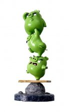 Angry Birds Evolution Diorama Angry Pigs 35 cm