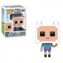 Adventure Time / Minecraft POP! Television Vinylová Figurka Finn