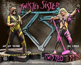 Twisted Sister Rock Iconz Socha 2-Pack Dee Snider & Jay Jay Fre