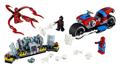 LEGO® Marvel Super Heroes™ Spider-Man Bike Rescue