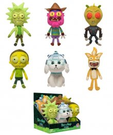 Rick and Morty Galactic Plushies Plyšák 18 cm Display (9)