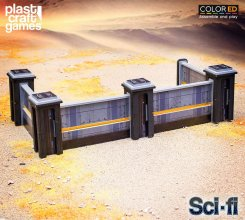 Sci-fi ColorED Miniature Gaming Model Kit 28 mm Continuum Port W