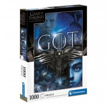 Game of Thrones skládací puzzle Three-Eyed Raven (1000 pieces)