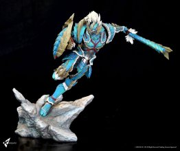 Monster Hunter Zinogre Diorama 1/10 Male Hunter