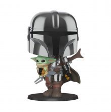 Star Wars The Mandalorian Super Sized POP! Vinylová Figurka The
