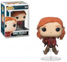 Harry Potter POP! Movies Vinyl Figure Ginny on Broom 9 cm