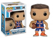 NBA POP! Sports Vinylová Figurka Kristaps Porzingis (New York Kn