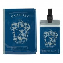 Harry Potter Passport Case & Luggage Tag Set Ravenclaw