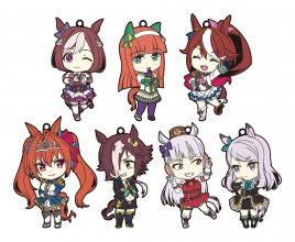Uma Musume Pretty Derby Nendoroid Plus Rubber Keychain 7-Pack 7