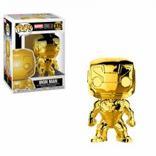 Marvel Studios 10 POP! Marvel Vinyl Figure Iron Man (Chrome) 9 c