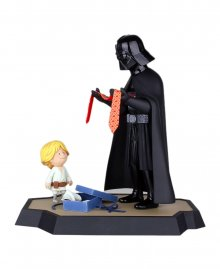 Star Wars Maketa & Kniha Darth Vader and Son 25 cm