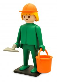 Playmobil Vintage Collection Figure Construction Worker 21 cm
