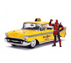 Deadpool kovový model 1/24 Deadpool Yellow Taxi