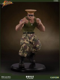 Street Fighter Mixed Media Socha 1/4 Guile PCS Exclusive 44 cm