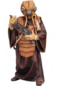 Star Wars ARTFX+ Socha 1/10 Bounty Hunter Zuckuss 17 cm