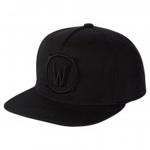 World of Warcraft Premium Snapback čepice Blackout Logo