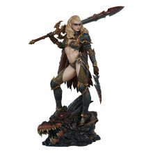 Sideshow Originals Socha Dragon Slayer: Warrior Forged in Flame
