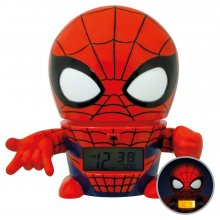 Marvel BulbBotz Budík with Light Spider-Man 14 cm