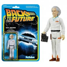 Back to the Future ReAction akční figurka Doc Brown VYPRODANÉ