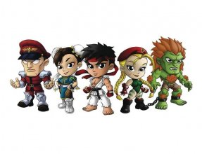 Street Fighter Lil Knockouts Blind Tins Vinyl Figures Series 1 A