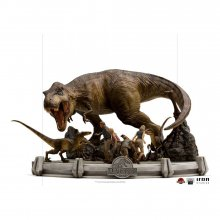 Jurassic Park Demi Art Scale Socha 1/20 The Final Scene 48 cm