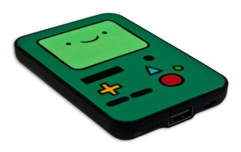 Adventure Time Credit Card Sized Power Bank 5000 mAh BMO