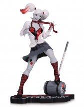 DC Comics Red, White & Black Statue Harley Quinn by Guillem Marc