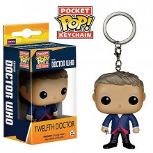Doctor Who přívěšek na klíče POP! 12th Doctor 4 cm